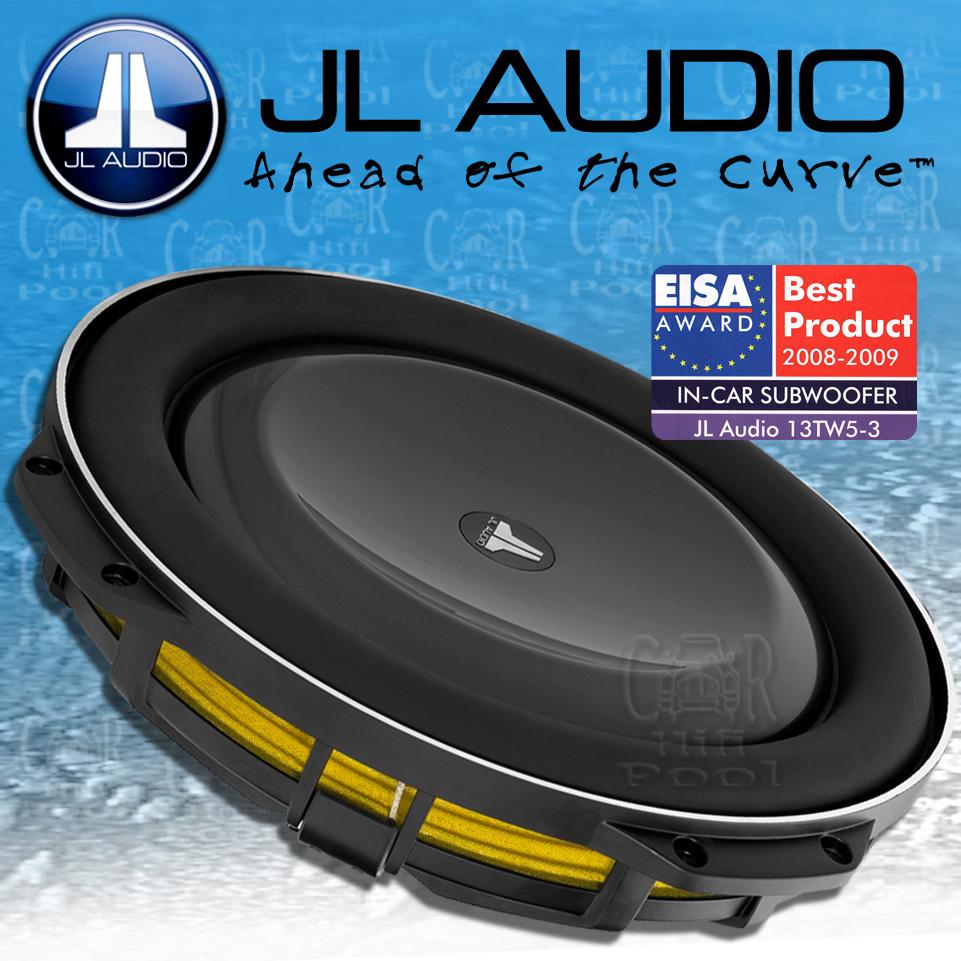 jl audio tw5 serie 13tw5 3 34cm subwoofer extrem flach. Black Bedroom Furniture Sets. Home Design Ideas