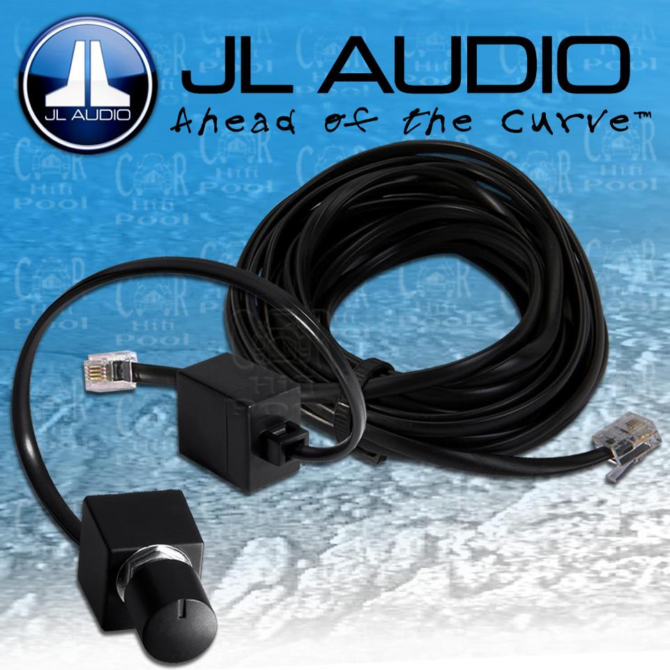 JL AUDIO Bass Remote RBC-1 Kabel Fernbedienung für Slash G und JX ...