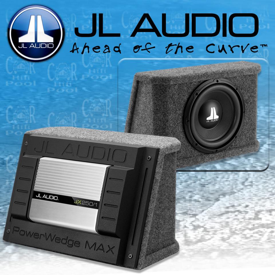 JL AUDIO WX Aktiv Serie PWM110-WXJX Gehäusesubwoofer 25cm Bass Subwoofer